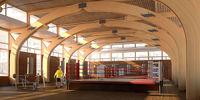 Город Долгопрудный, микрорайон «Центральный», спортивный центр корпуса 8 изнутри