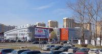 Город Долгопрудный, микрорайон «Центральный», коллаж с существующими домами со стороны ул. Дирижабельная