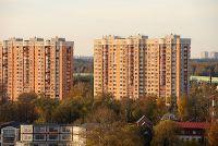 Город Долгопрудный, микрорайон «Хлебниково», построенные многоквартирные дома микрорайона