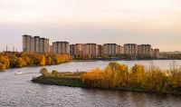 Город Долгопрудный, ЖК «Московские водники», вид со стороны канала им. Москвы