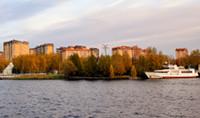 Город Долгопрудный, ЖК «Московские водники», вид со стороны микрорайона «Хлебниково» (3)