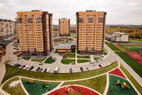 Город Долгопрудный, ЖК «Московские водники», дома со стороны ул. Московская
